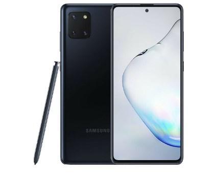 Смартфон Samsung Galaxy Note 10 Lite SM-N770F Dual  8/128GB Aura Black (SM-N770FZKD)