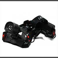 Мощный Налобный фонарь BL POLICE P-T32-P50 фонарик 1050 Lumen