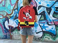 Детский рюкзак Антивор Mickey Mouse (красный) 1280