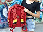 Детский рюкзак Антивор Mickey Mouse (красный) 1280, фото 2
