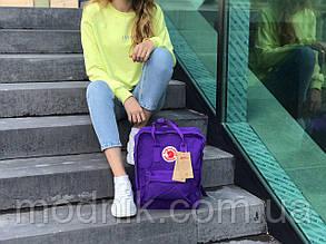 Спортивний рюкзак Kanken (фіолетовий) - Унісекс 1284