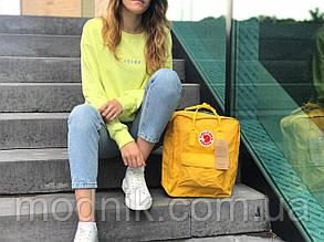 Спортивний рюкзак Kanken (жовтий) - Унісекс 1285