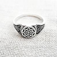 Валькирия кольцо славянский оберег , фото 1