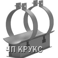 Подвижная опора для теплопроводов Ду 50-1000мм в пенополиуретановой изоляции в металлической оболочке
