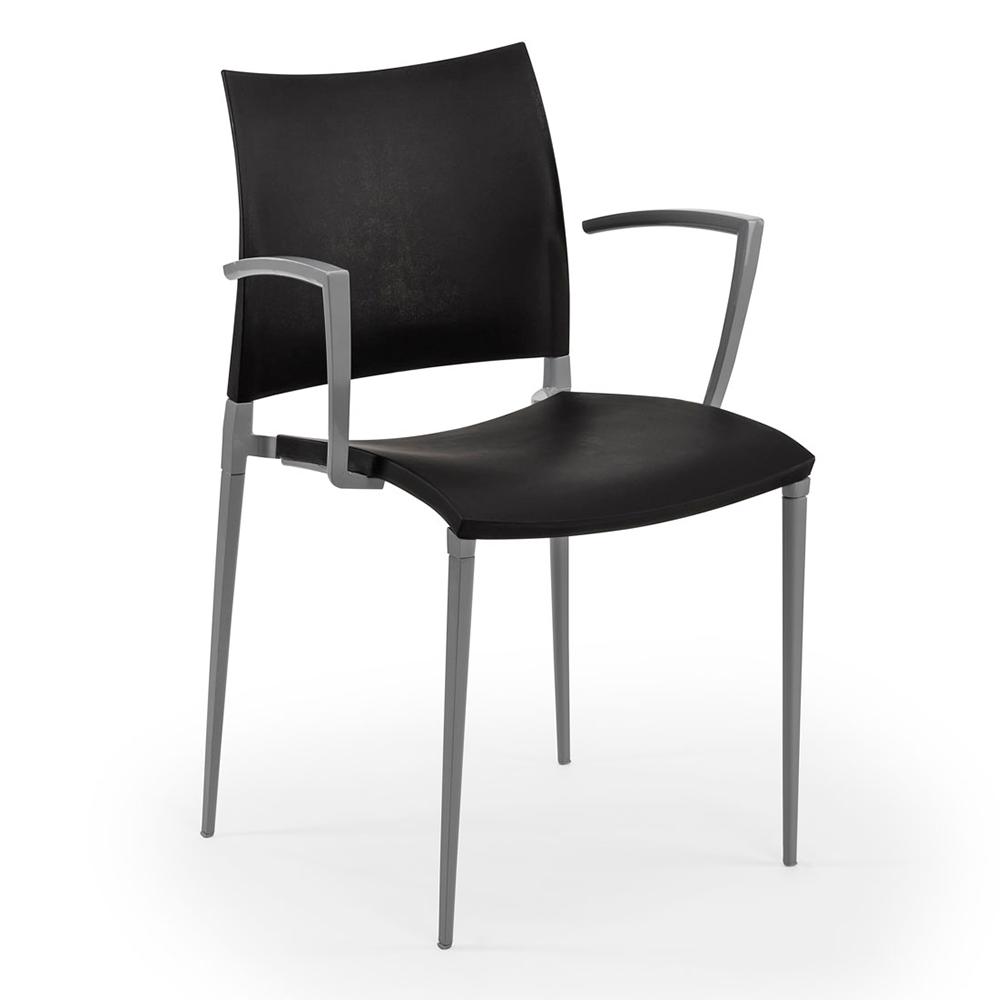 Кресло Tilia Neptun черное