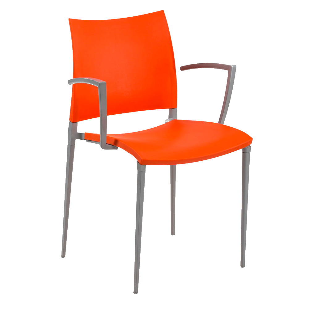 Кресло Tilia Neptun оранжевое