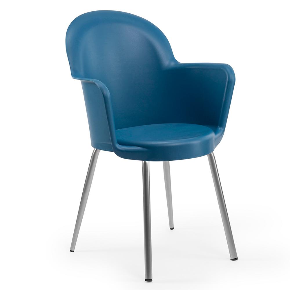 Кресло Tilia Gora синий джинс