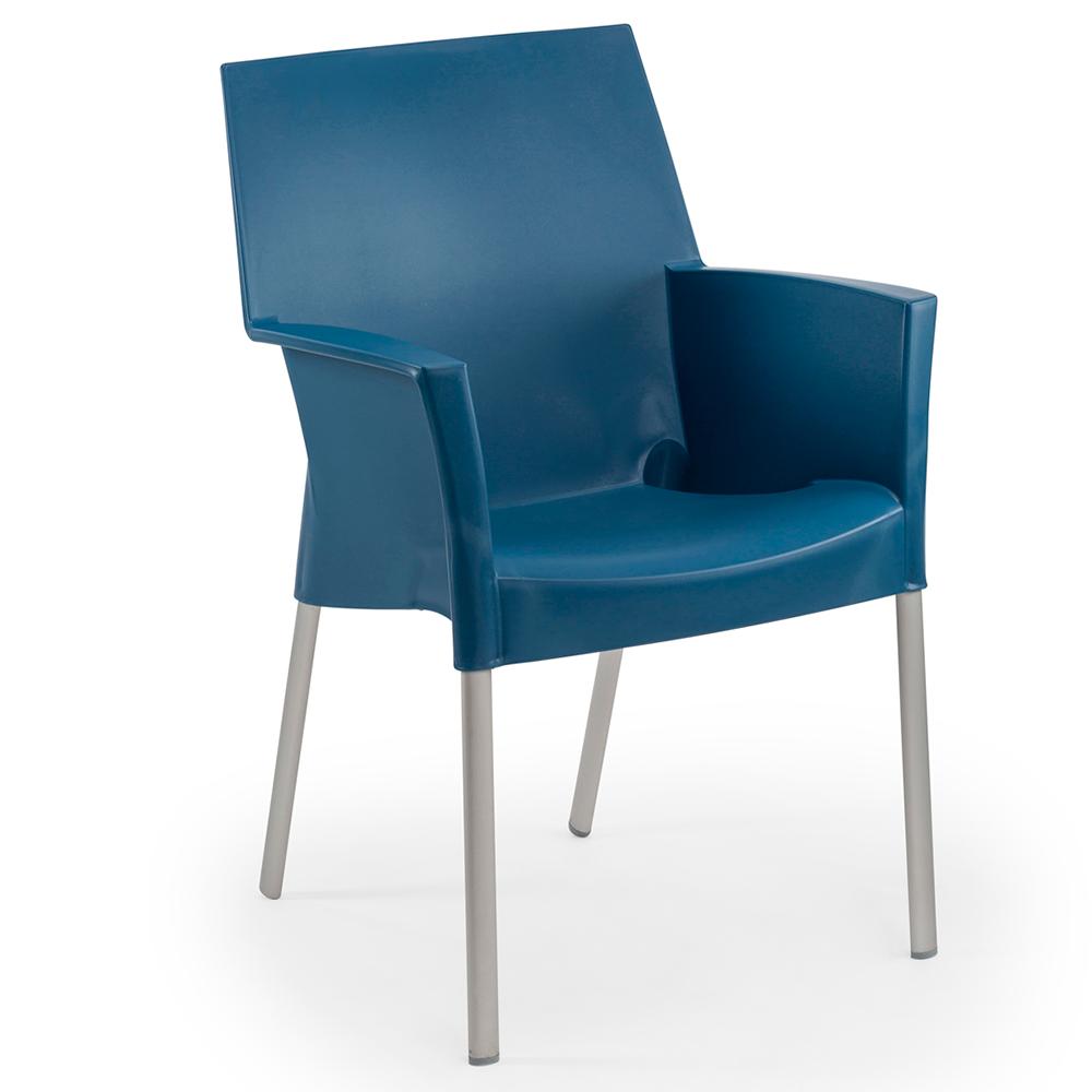 Кресло Tilia Sole синий джинс