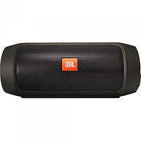 Портативная bluetooth колонка спикер JBL Charge 2 FM, MP3, радио Чёрный