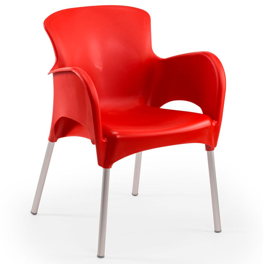 Кресло Tilia Mars красное