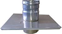 Окончание из нержавейки 0,5 мм, диаметр 100мм