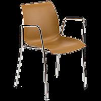 Кресло Tilia Laser ножки хромированные цвет дерево, фото 1