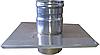 Закінчення з нержавіючої сталі 0,5 мм, діаметр 140мм