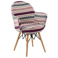 Кресло Tilia Gora-V ножки буковые, сиденье с тканью ARTCLASS 903, фото 1