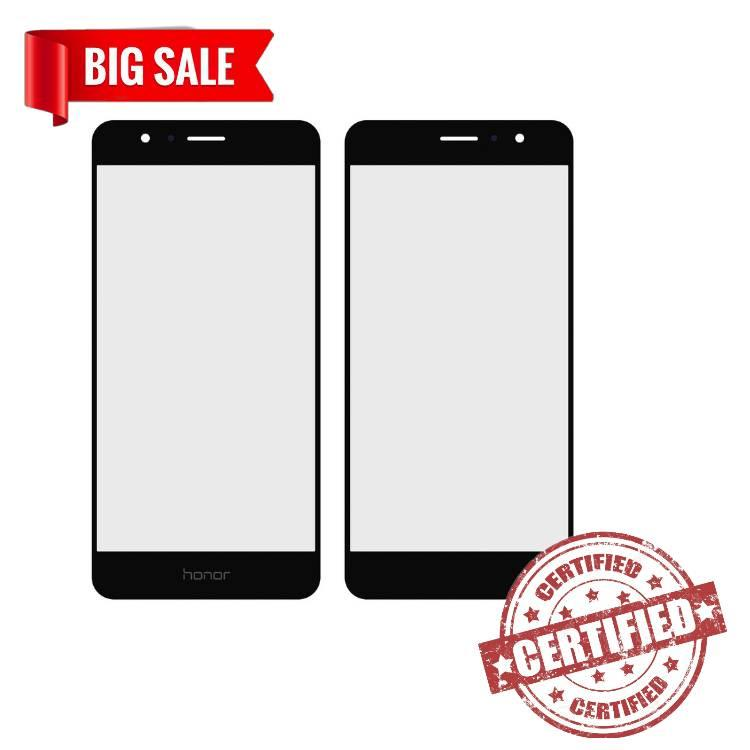 Стекло модуля для Huawei Honor 8 black