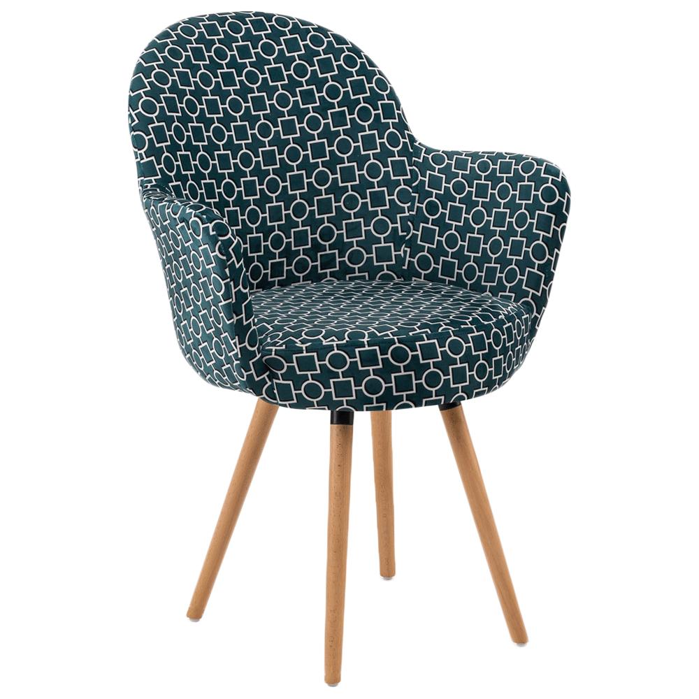 Кресло Tilia Gora-N ножки буковые, сиденье с тканью ARTCLASS 808