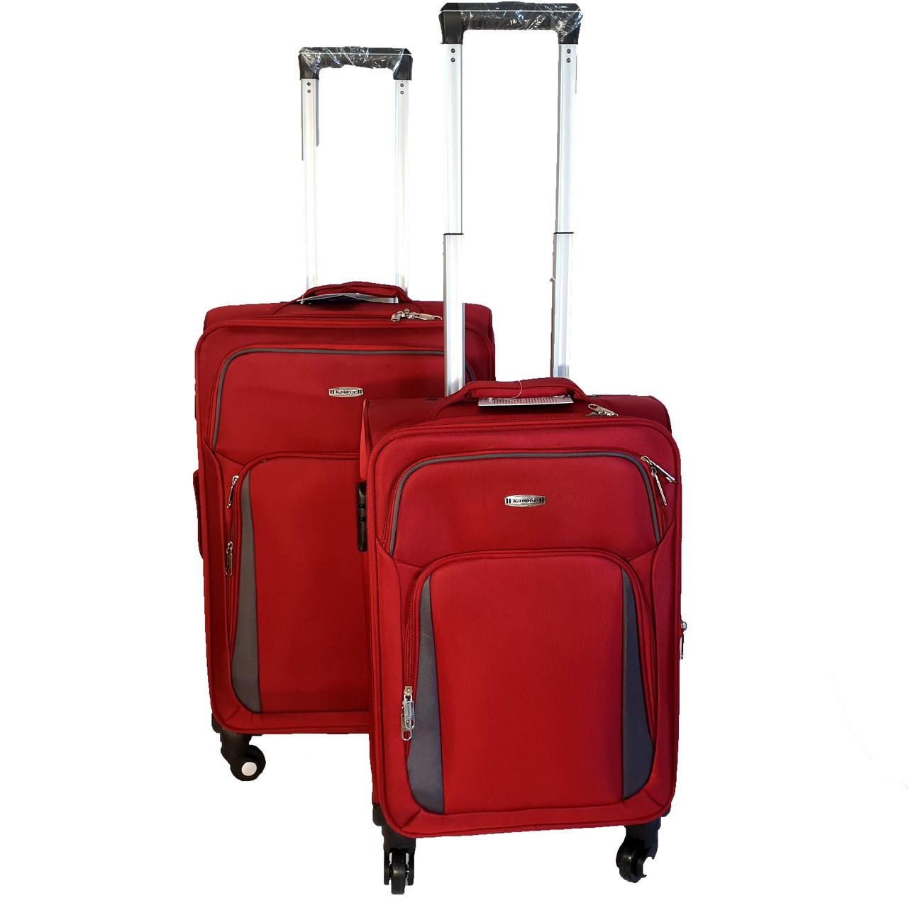 Комплект тканевых чемоданов Kaiman 4 колеса