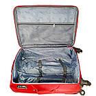 Комплект тканевых чемоданов Kaiman 4 колеса, фото 2