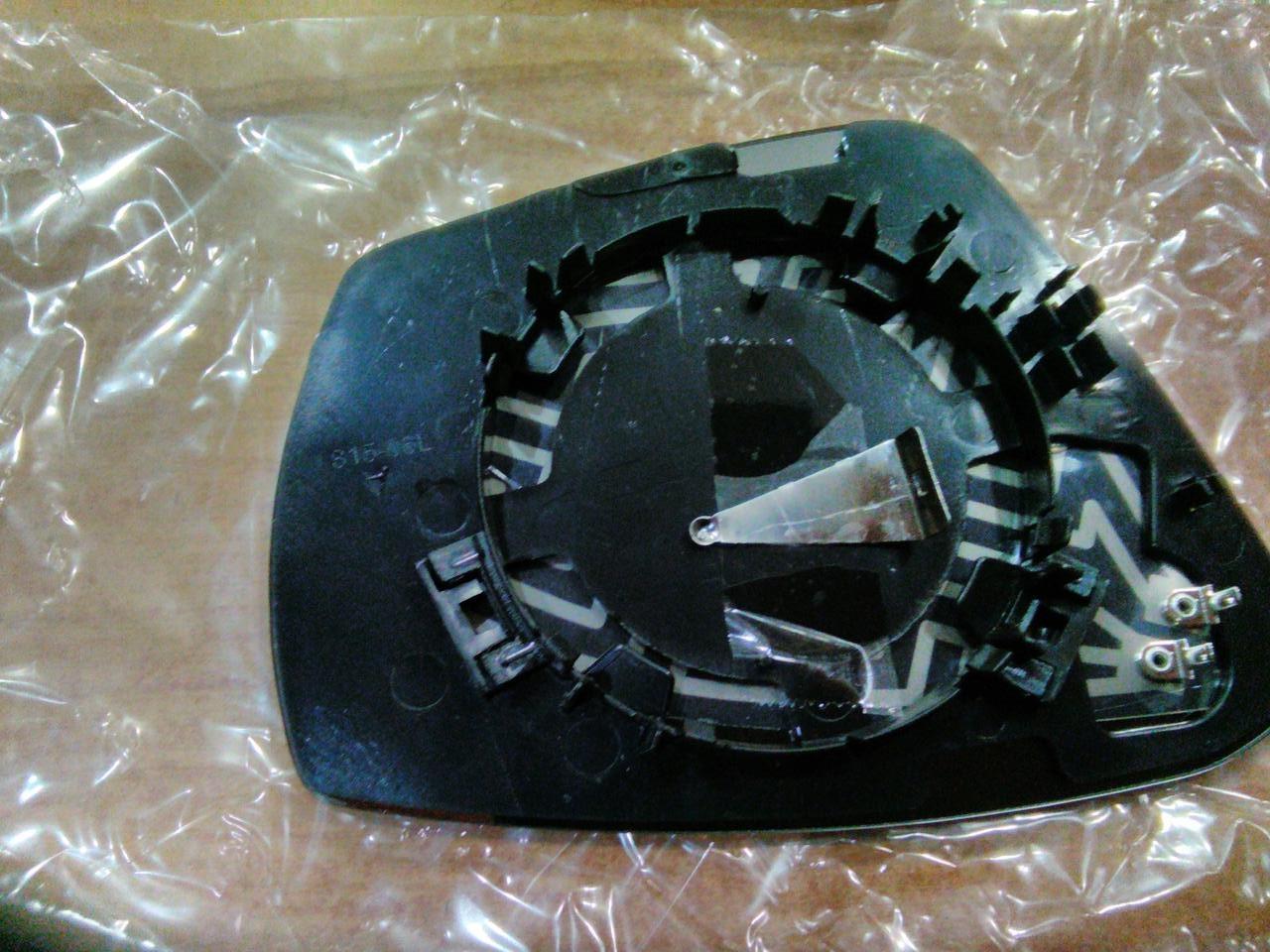 Вкладыш зеркала для Skoda Octavia A7 13- левый