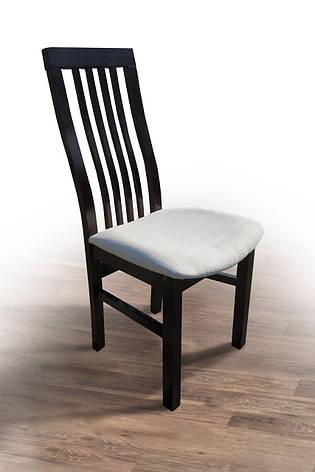 Стул кухонный Премьер  Микс мебель, цвет темный орех, фото 2