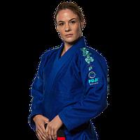 Кимоно Ги для девушек Fuji Sports Gi Blue Blossom бжж фуджи для джиу-джитсу кимоно