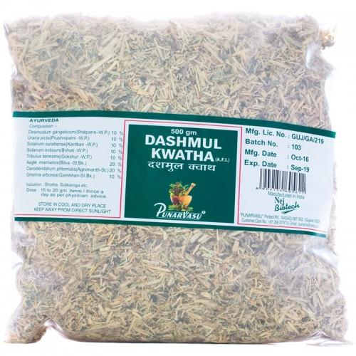 Дашамул, Дашамула, Dashamool, чурна, 500 г - порушення роботи нейроендокринної системи, шкірні запалення, алк