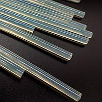 Клей силиконовый клеевые стержни 7мм 25шт. термоклей