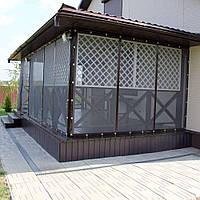 Мягкие окна ПВХ с антимоскитными сетками