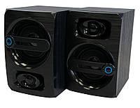 🔝 Компьютерные аудио колонки FT-108AC черные, акустика для ноутбука, компьютера | (колонки до компа) | 🎁%🚚