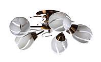 Люстра потолочная на 5 плафонов Sunlight ST249 Белый 715025, КОД: 1286774