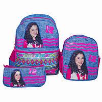 Рюкзак школьный  с пеналом и ланчбоксом   Glossy Bird GB2202