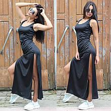 Женское платье в пол летнее спортивное