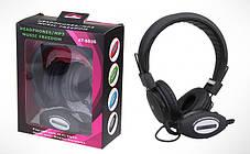 Навушники Bluetooth AT-SD36 + MP3 + Радіо чорні, фото 2