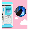 Детская электронная копилка сейф с кодовым замком и отпечатком пальца ROBOT BODYGUARD, фото 4