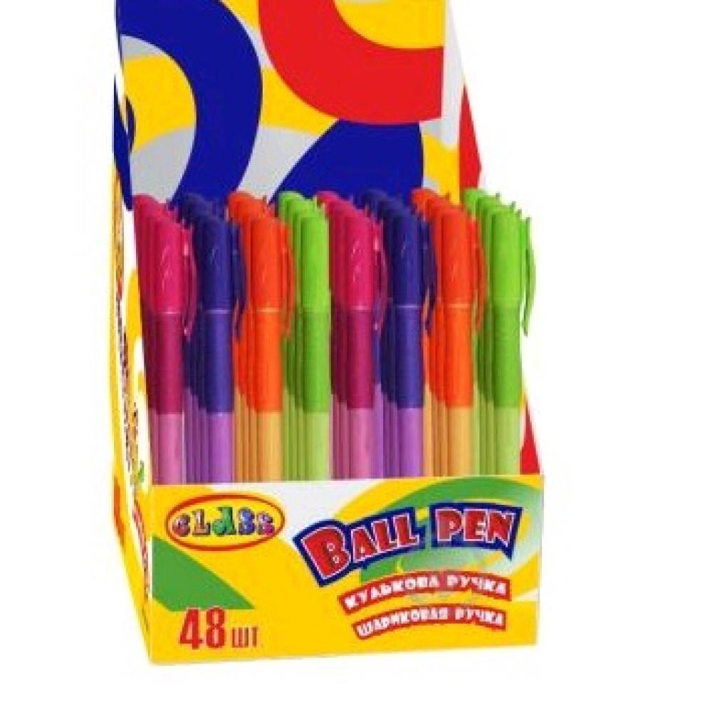 Ручка шариковая CLASS 346C синяя 0 5 мм