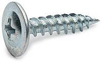 Саморез по металлу 4.2х13 острый с прессшайбой оцинкованный