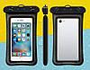 """Водонепроницаемый плавающий чехол """"Oxo"""" аквабокс для телефона 4.0-5.5 дюйма универсальный прозрачный, фото 4"""