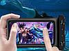 """Водонепроницаемый плавающий чехол """"Oxo"""" аквабокс для телефона 4.0-5.5 дюйма универсальный прозрачный, фото 6"""