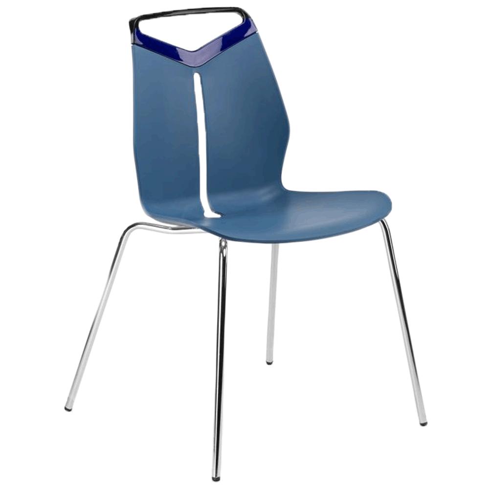 Стул Tilia Max PC синий джинс - голубой