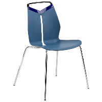 Стул Tilia Max PC синий джинс - голубой, фото 1