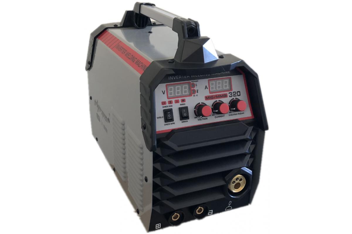Полуавтомат сварочный 320А 0.6-1.0/1.6-5.0мм Луч Профи MIG/MMA-320
