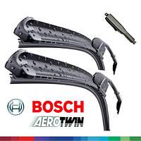 700/550мм OPEL Zafira [B] 2005-2015 дворники Bosch AeroTwin A 256S Склоочисники