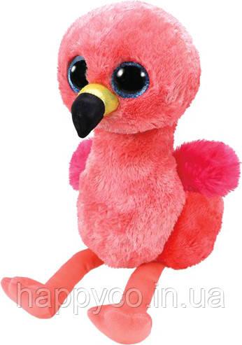 """Мягкая игрушка TY Beanie Boo's Фламинго """"Gilda"""" 25 см"""