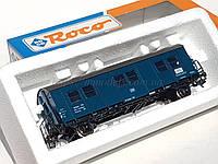 Roco 46127 Вагон теплушка строительного поезда принадлежности DB, масштаба 1/87, Н0