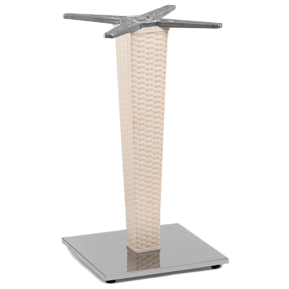 База стола Tilia Antares Single кремовий