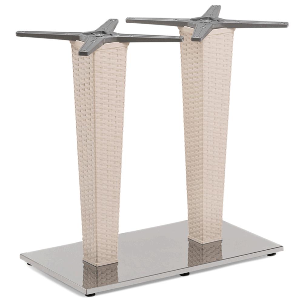 База стола Tilia Antares Double кремовий