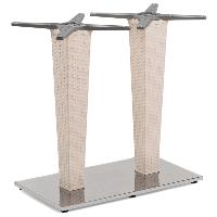 База стола Tilia Antares Double кремовий, фото 1