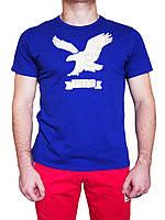 Мужская футболка с орлом