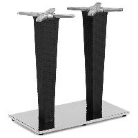 База стола Tilia Antares Double чорний, фото 1