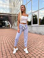 Трикотажные штаны женские
